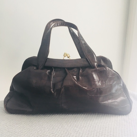 Banana Republic Handbags - Banana Republic Brown Leather Purse